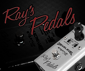 Visite nosso site Ray's Pedals